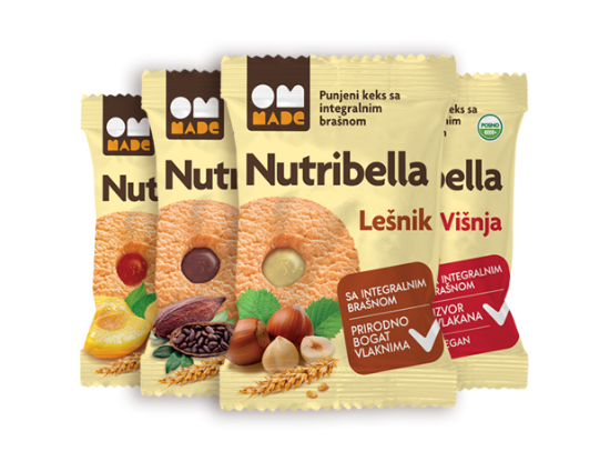 Nutribella punjeni keks