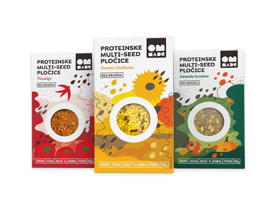 Proteinske multi-seed pločice