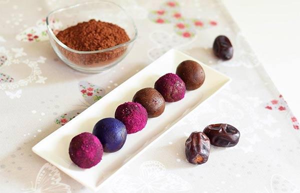 Kakao kuglice sa integralnim mlevenim keksom