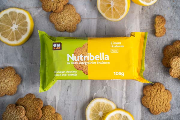 Nutribella biskvit - limun