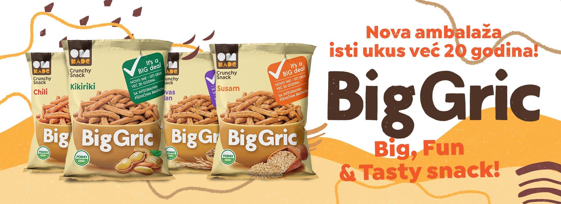 Big gric - naslovna