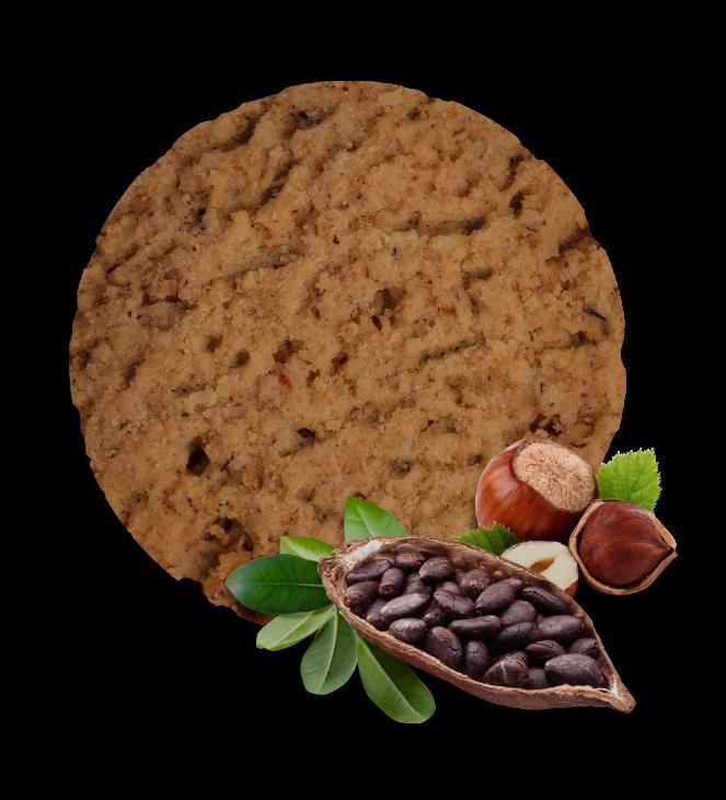 Smart ovseni keks - lešnik kakao