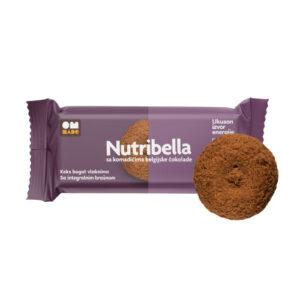 Nutribella biskvit Belgijska čokolada 105g
