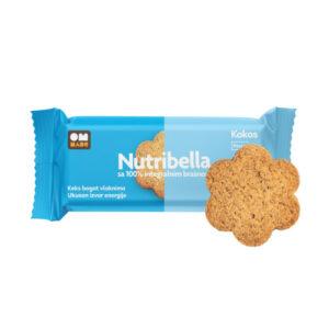 Nutribella biskvit kokos 105g