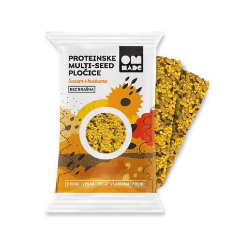 Proteinske pločice kurkuma 54g
