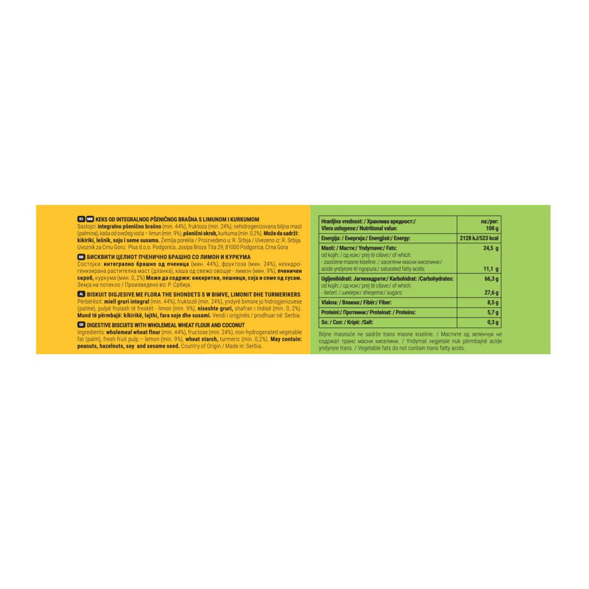 Nutribella limun i kurkuma zadnja strana