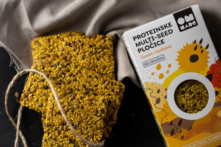 Proteinske plocice - kurkuma