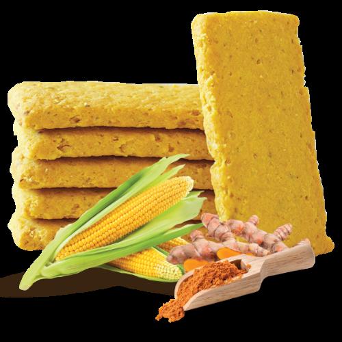 Smart kreker kukurz i kurkuma