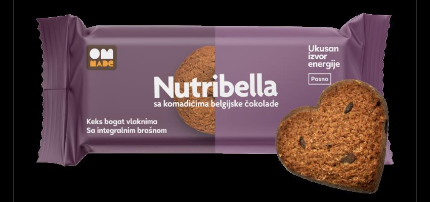 Nutribella biskvit belgijska čokolada