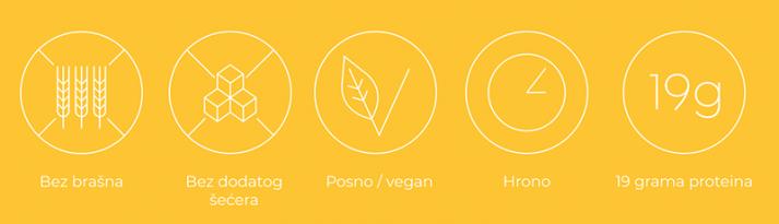 Proteinske pločice od susama i kurkuma - benefiti
